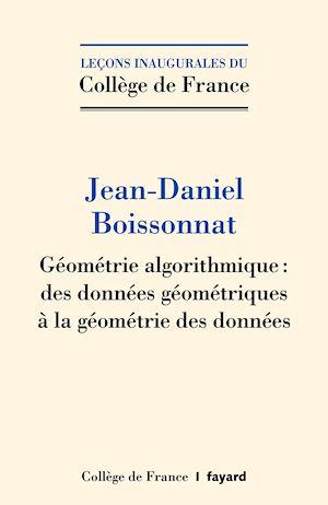 Téléchargez le livre :  Géométrie algorithmique