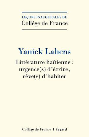 Téléchargez le livre :  Littérature haïtienne