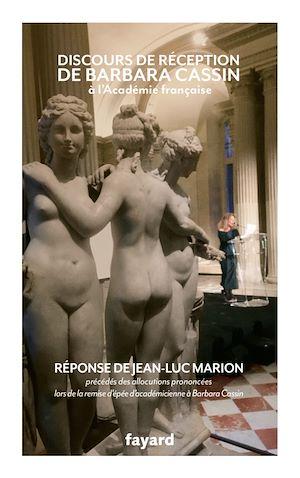 Téléchargez le livre :  Discours de réception à l'Académie française