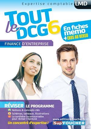 Téléchargez le livre :  Tout le DCG 6 - Finance d'entreprise