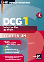 Télécharger cet ebook : DCG 1 - Introduction au droit - Manuel et applications - 9e édition - Millésime 2015-2016