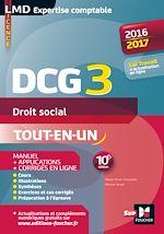 Télécharger cet ebook : DCG 3 - Droit social - Manuel et applications - 10e édition - Millésime 2016-2017