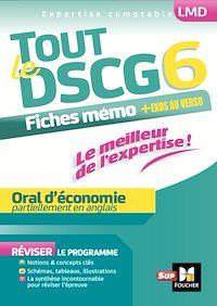 Télécharger le livre : Tout le DSCG 6 - Oral d'économie