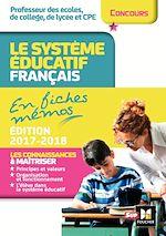 Télécharger le livre :  Le système éducatif français en fiches mémos Edition 2017-2018