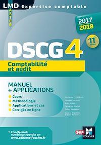 Télécharger le livre : DSCG 4 Comptabilité et audit manuel et applications 11e édition Millésime 2017-2018