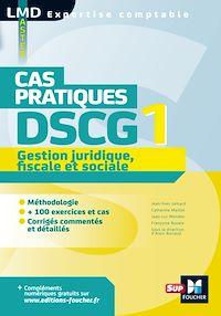 Télécharger le livre : DSCG 1 Gestion juridique fiscale et sociale Cas pratiques