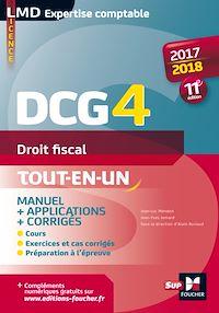 Télécharger le livre : DCG 4 - Droit fiscal - Manuel et applications - 2017-2018 - 11e édition