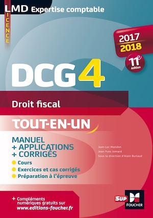 Téléchargez le livre :  DCG 4 - Droit fiscal - Manuel et applications - 2017-2018 - 11e édition