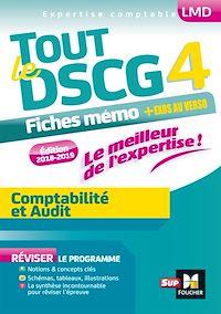 Télécharger le livre : Tout le DSCG 4 - Comptabilité et Audit - Entrainement et révision - 2e édition