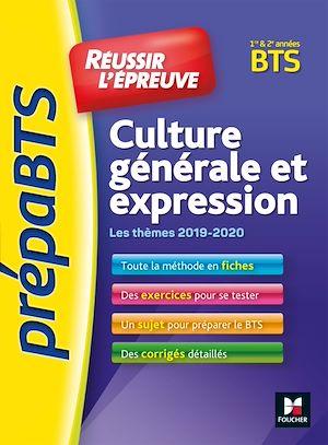 Téléchargez le livre :  PrepaBTS - Réussir l'épreuve - Culture générale et expression - Tous BTS - Révision et entrainement