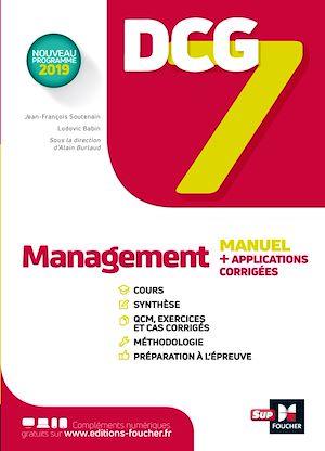 Téléchargez le livre :  DCG 7 - Management Manuel et applications