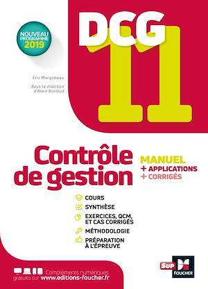 Téléchargez le livre :  DCG 11 - Contrôle de gestion - Manuel et applications