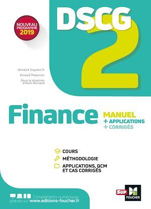 Téléchargez le livre :  DSCG 2 - Finance - Manuel et applications
