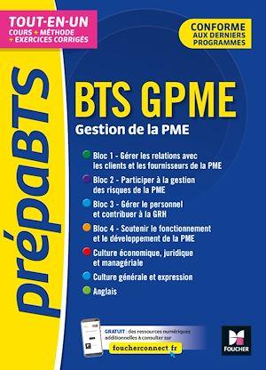 Téléchargez le livre :  PrépaBTS - BTS Gestion de la PME - Toutes les matières - Révision et entrainement