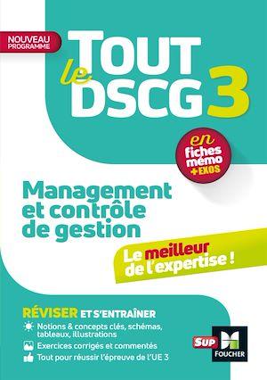 Téléchargez le livre :  Tout le DSCG 3 - Management et contrôle de gestion - Révision et entraînement