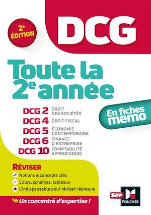 Téléchargez le livre :  DCG : Toute la 2e année du DCG 2, 4, 5, 6, 10 en fiches - Révision