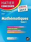 Téléchargez le livre numérique:  Hatier Concours CRPE 2017 - Epreuve écrite d'admissibilité - Mathématiques Tome 2