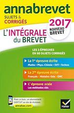 Télécharger cet ebook : Annales Annabrevet 2017 L'intégrale du nouveau brevet 3e