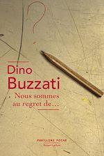Télécharger le livre :  Nous sommes au regret de...