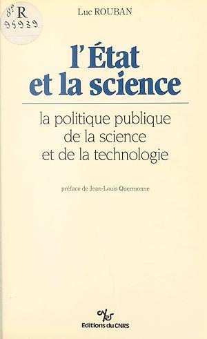 Téléchargez le livre :  L'État et la science : la politique publique de la science et de la technologie