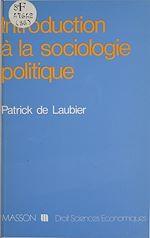 Télécharger le livre :  Introduction à la sociologie politique