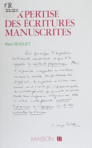 Téléchargez le livre :  L'Expertise des écritures manuscrites