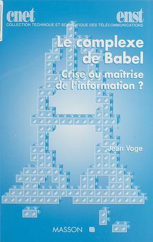 Téléchargez le livre :  Le Complexe de Babel