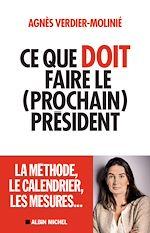Télécharger le livre :  Ce que doit faire le (prochain) président