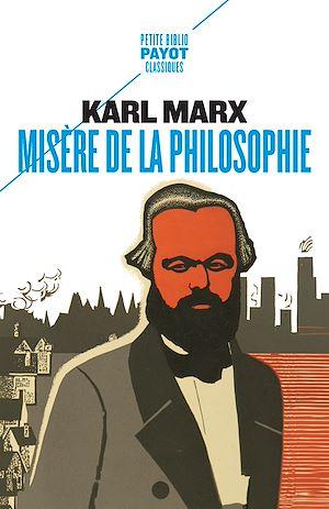 Téléchargez le livre :  Misère de la philosophie