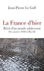 Télécharger le livre :  La France d'hier