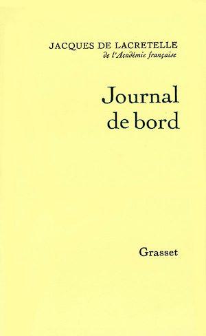 Téléchargez le livre :  Journal de bord