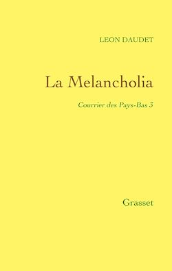 Téléchargez le livre numérique:  La Melancholia - Courrier des Pays-Bas Tome 3
