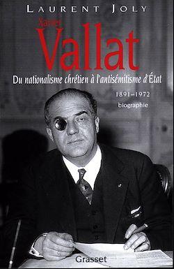 Téléchargez le livre numérique:  Xavier Vallat (1891-1972)