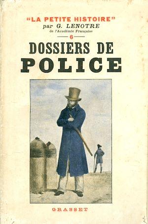 Téléchargez le livre :  Dossiers de police