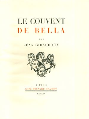 Téléchargez le livre :  Le couvent de Bella