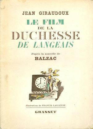 Téléchargez le livre :  Le film de la Duchesse de Langeais