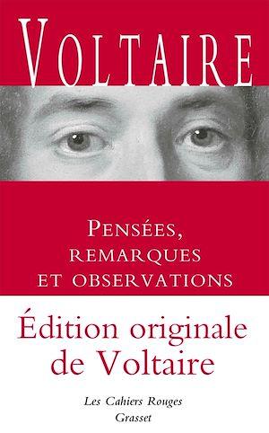 Téléchargez le livre :  Pensées, remarques et observations - Inédit