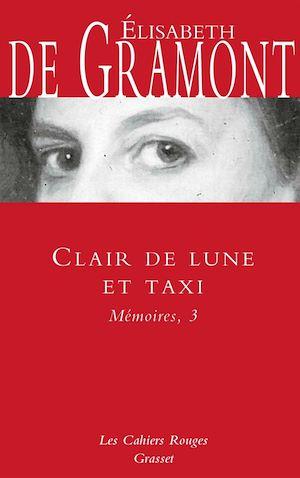 Téléchargez le livre :  Clair de lune et taxi - Mémoires, 3