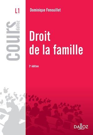 Téléchargez le livre :  Droit de la famille