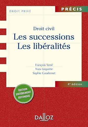 Téléchargez le livre :  Droit civil. Les successions. Les libéralités