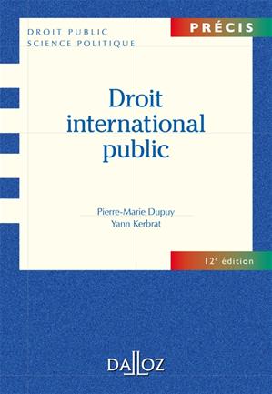 Téléchargez le livre :  Droit international public