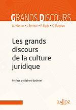 Télécharger cet ebook : Les grands discours de la culture juridique