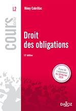 Télécharger cet ebook : Droit des obligations