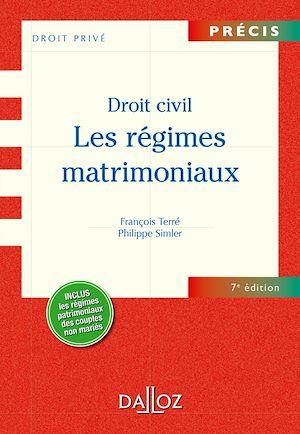 Téléchargez le livre :  Droit civil. Les régimes matrimoniaux