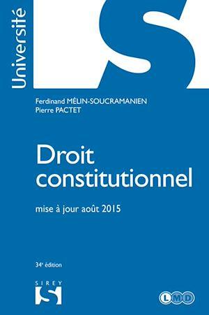 Téléchargez le livre :  Droit constitutionnel