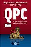 Téléchargez le livre numérique:  QPC. La question prioritaire de constitutionnalité