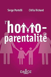 Télécharger le livre : L'homoparentalité