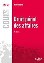 Télécharger le livre :  Droit pénal des affaires