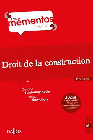 Téléchargez le livre :  Droit de la construction