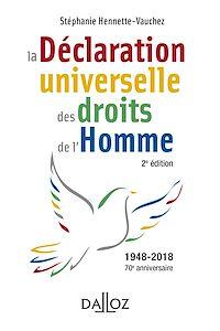 Télécharger le livre : La déclaration universelle des droits de l'Homme